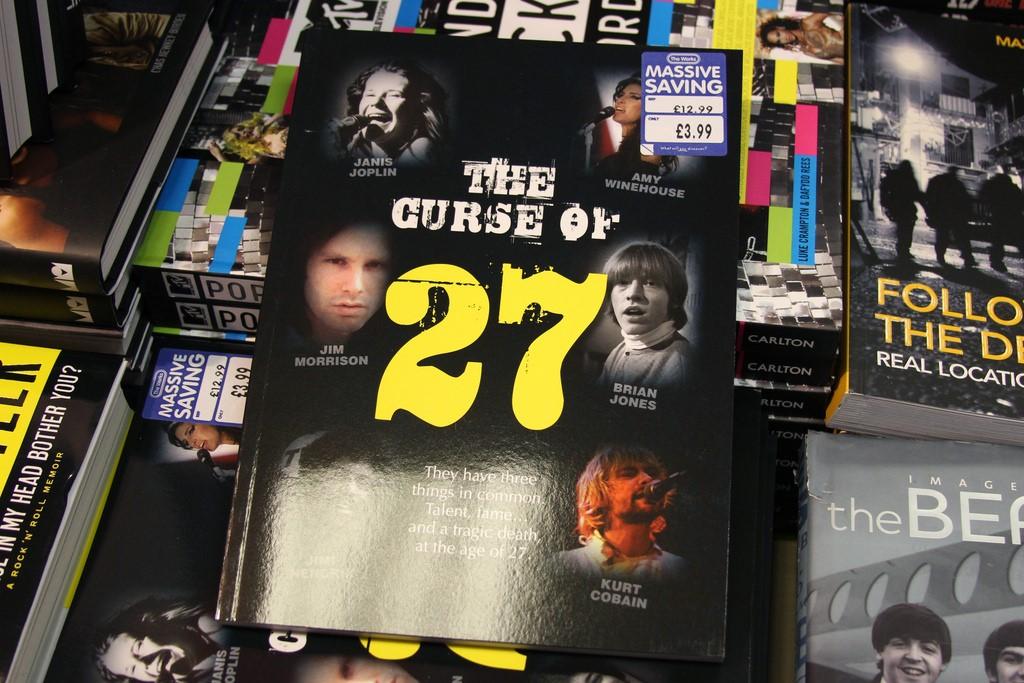 Club 27…ชมรมที่ค่าสมาชิกต้องแลกด้วยชีวิต